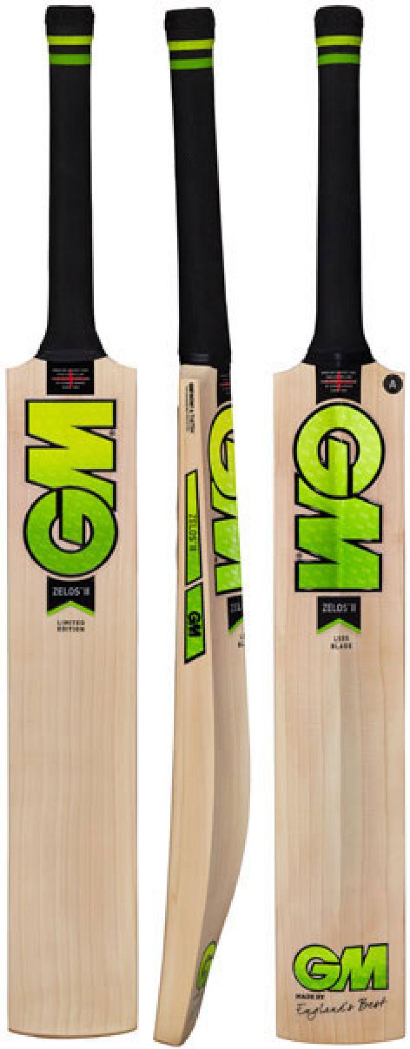 Gunn and Moore Zelos II L555 DXM Signature Cricket Bat