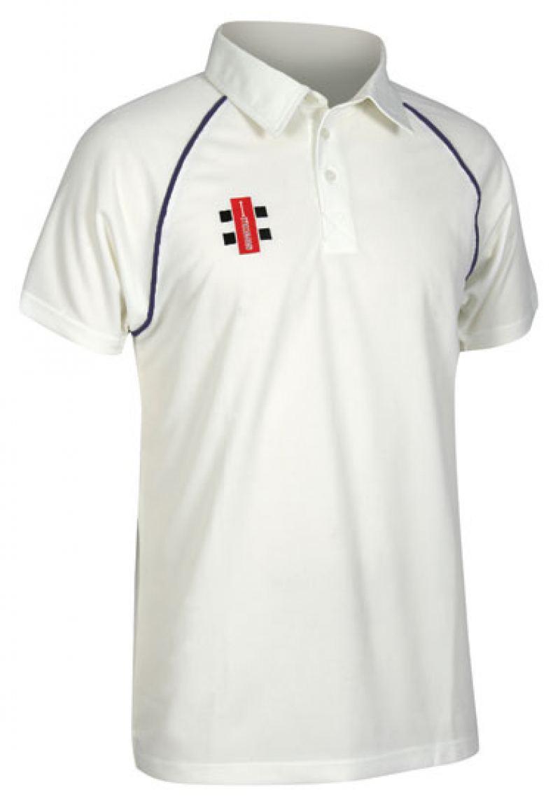 Gray Nicolls Matrix Short Sleeved Shirt (Junior Sizes)