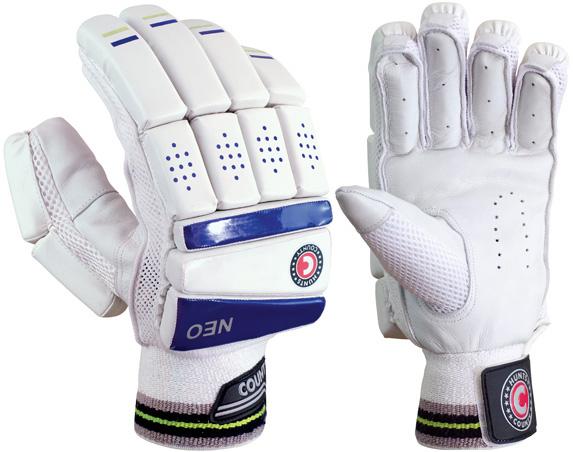 Hunts County Neo Batting Gloves (Junior)