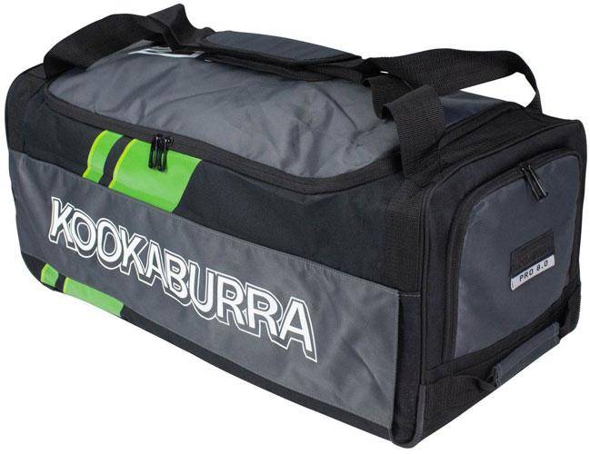Kookaburra 8.0 Wheelie Bag (BlackWhite)