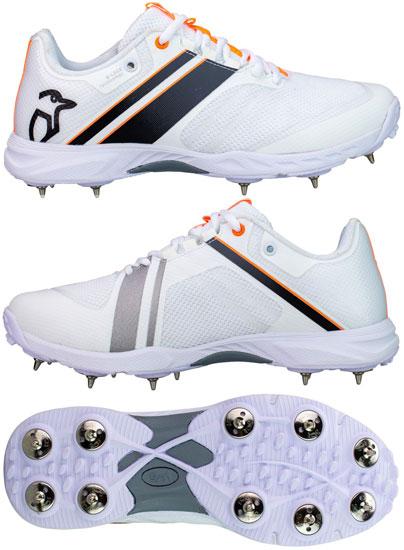 Kookaburra KC 2.0 (Black/Orange) Cricket Shoes