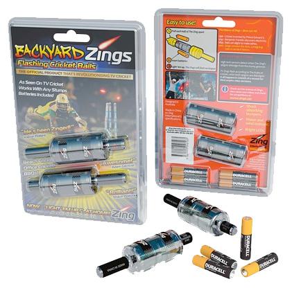 Backyard Zings Flashing Bails