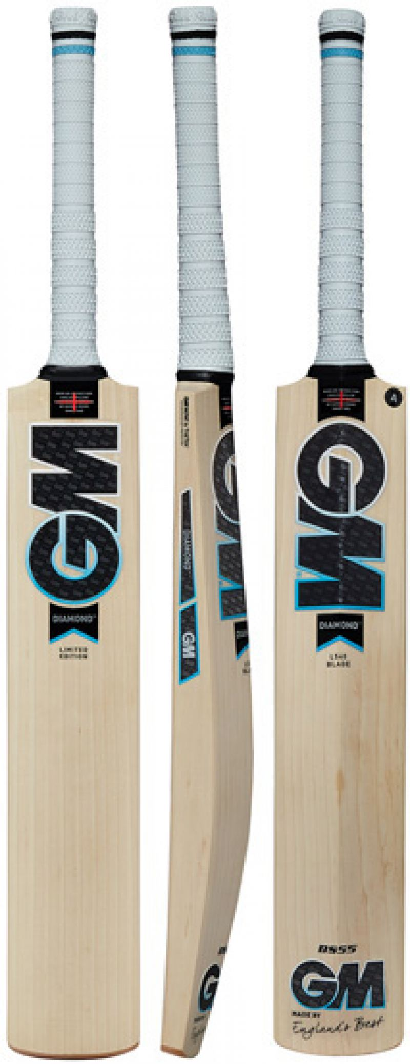 Black//Blue//White One Size Gunn /& Moore GM Cricket Diamond Mini Cricket Set