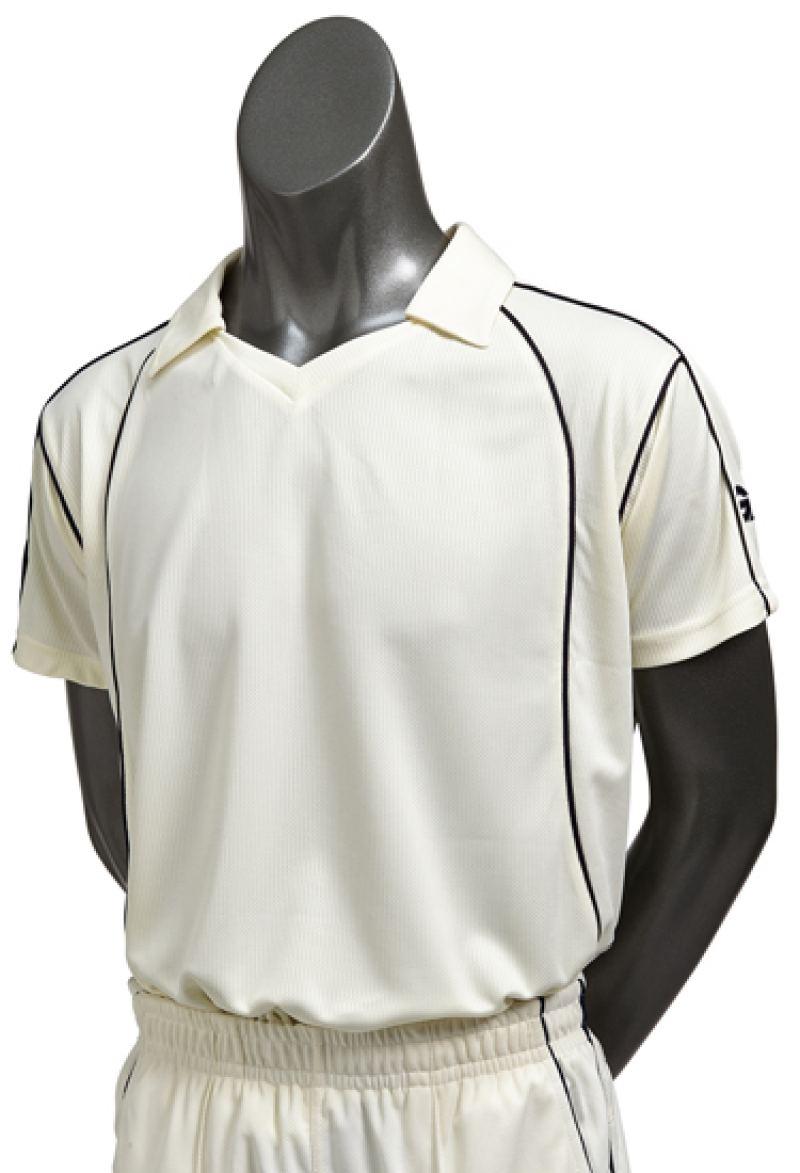 Gunn and Moore Icon Short Sleeve Shirt (Junior Sizes)
