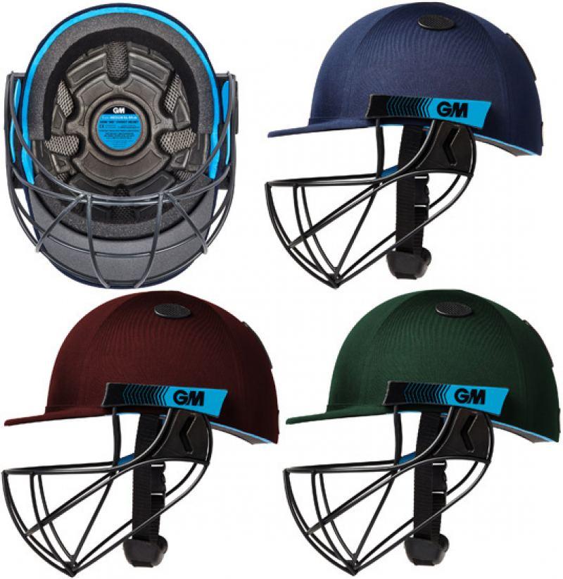 Gunn and Moore Neon Geo Helmet (Junior)