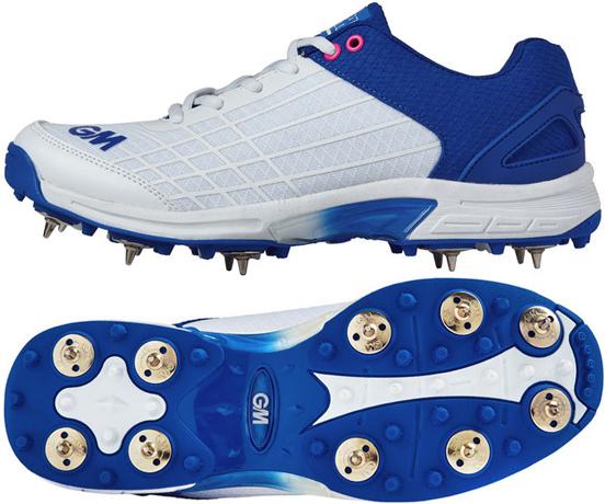 2018 Gunn /& Moore Original Spike Junior Cricket Shoes Size UK 1 2 4 6