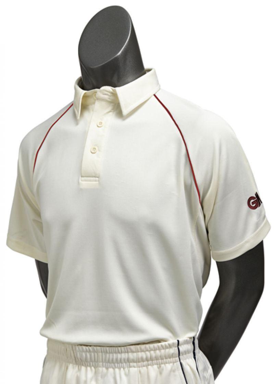 Gunn and Moore Premier Club Short Sleeve Shirt (Junior Sizes)