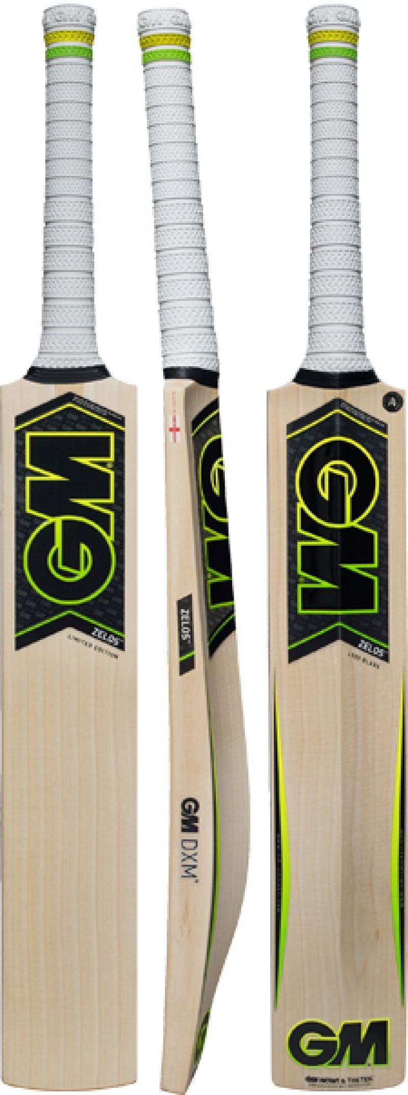 Gunn and Moore Zelos L555 DXM 606 GM NOW Cricket Bat