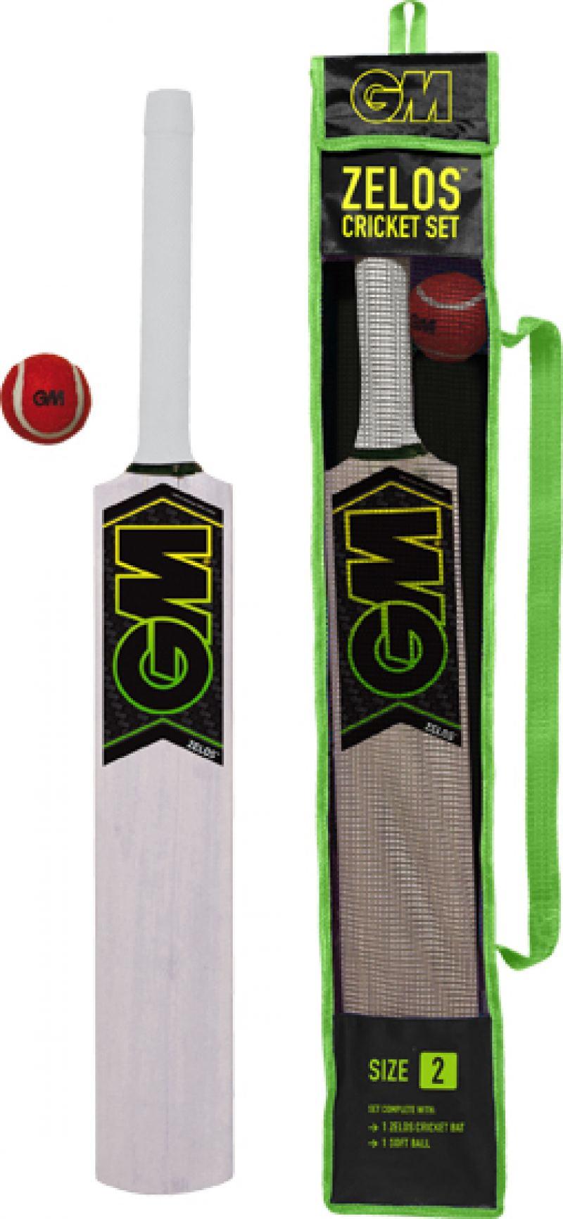 Gunn and Moore Zelos Cricket Set
