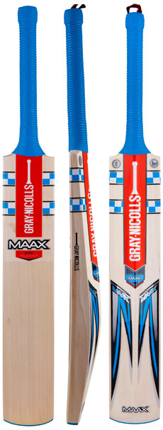 Gray Nicolls Maax Blue 200 Cricket Bat