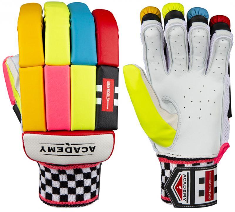 Gray Nicolls Off Cut Academy Batting Gloves (Junior)