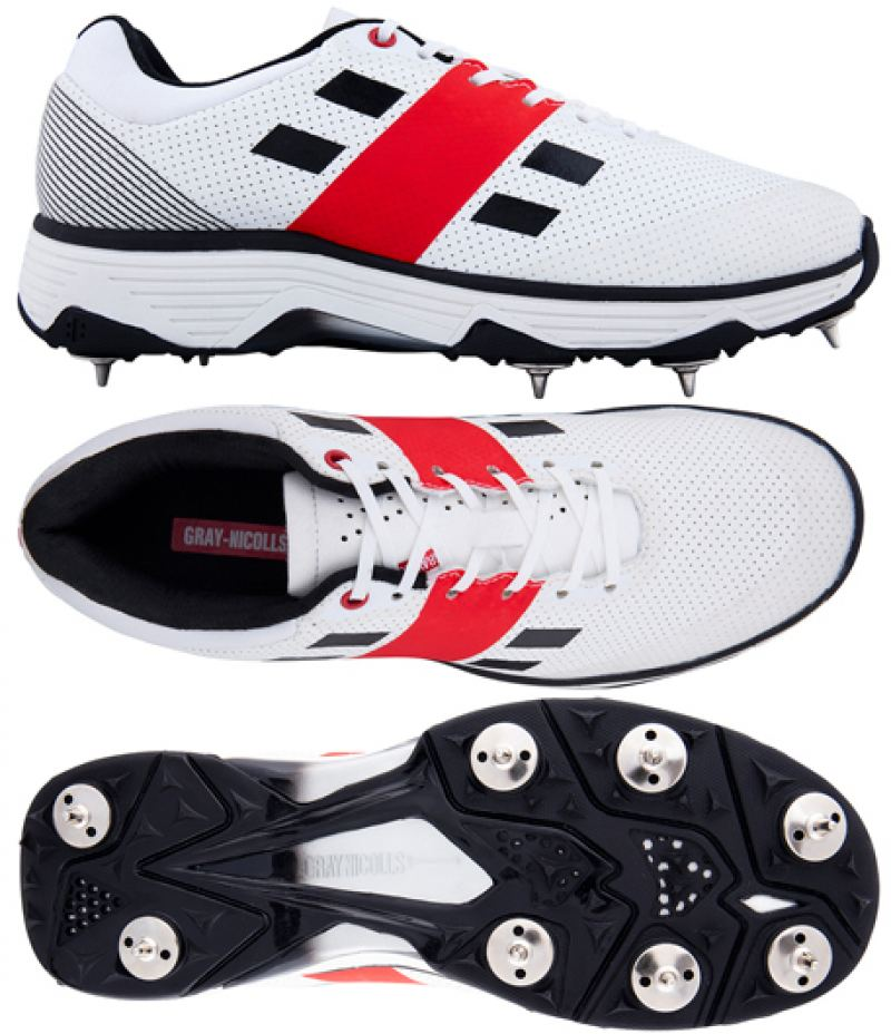 Gray Nicolls Players Black Cricket Shoes