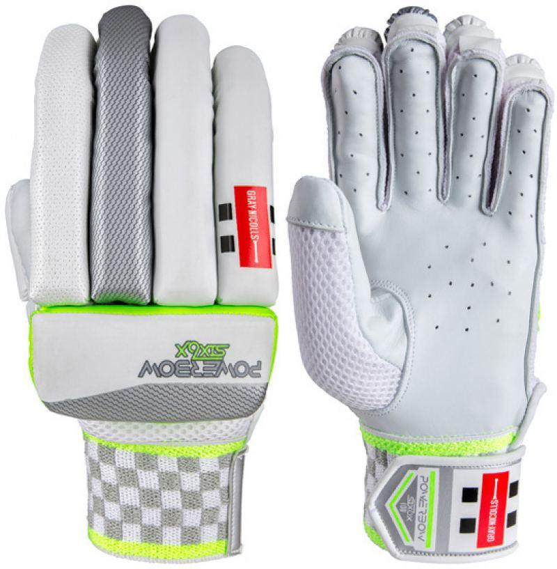 Gray Nicolls Powerbow 6X 100 Batting Gloves (Junior)