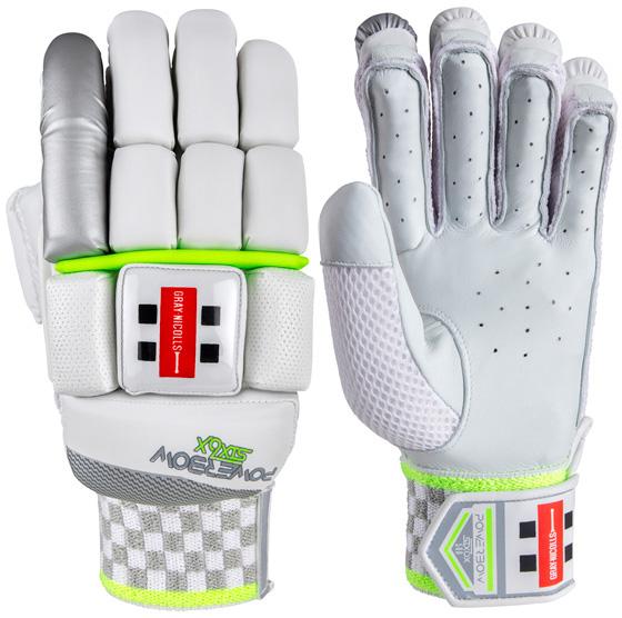 Gray Nicolls Powerbow 6X 500 Batting Gloves (Junior)