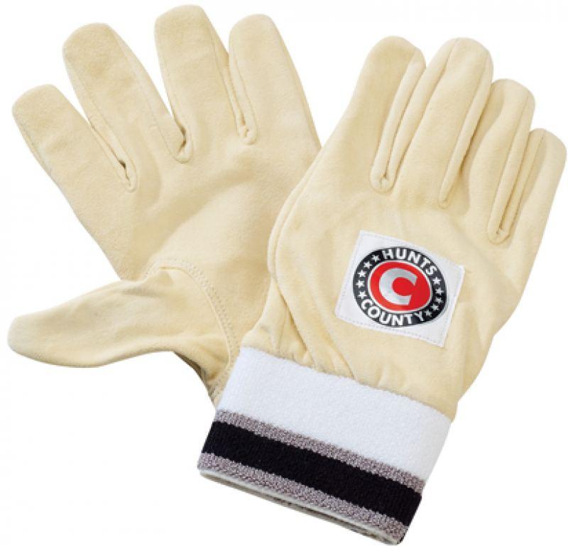 Hunts County Full Chamois Wicket Keeping Inner Gloves