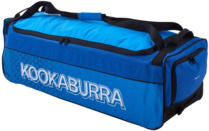 Kookaburra 4.0 Wheelie Bag (Blue/Cyan)