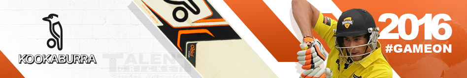 kookaburra Cricket Bat Range - 2016 Season Now Available