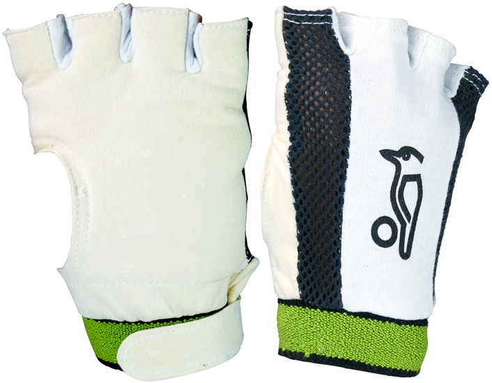 Kookaburra Padded Chamois Fingerless Wicket Keeping Inner Gloves