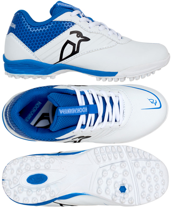 Kookaburra KC 5.0 (Blue) Rubber Junior Cricket Shoes
