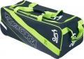 Kookaburra Pro 1500 Black/Lime Wheelie Holdall