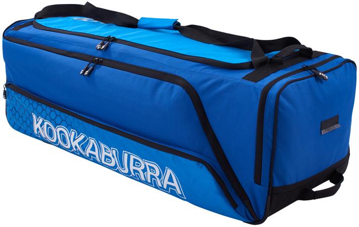 Kookaburra Pro 2.0 Wheelie Bag (Blue/Cyan)