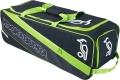 Kookaburra Pro 2000 Black/Lime Wheelie Holdall