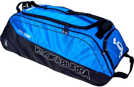 Kookaburra Pro 2500 Wheelie Bag (Blue)