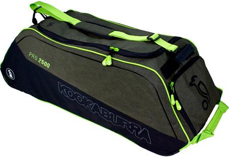 Kookaburra Pro 2500 Wheelie Bag (Khaki)