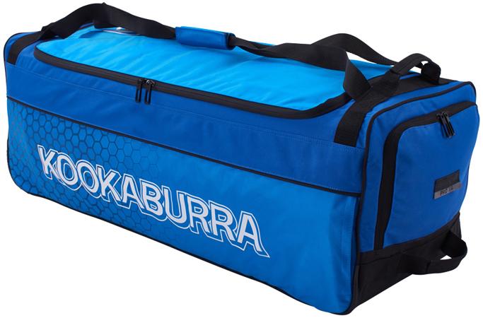 Kookaburra Pro 3.0 Wheelie Bag (Blue/Cyan)