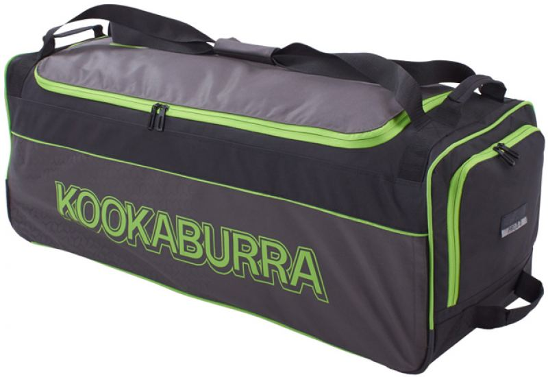 Kookaburra Pro 3.0 Wheelie Bag (Black/Lime)