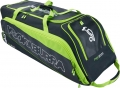 Kookaburra Pro 3000 Black/Lime Wheelie Holdall