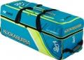 Kookaburra Pro Players Blue/Yellow Wheelie Bag