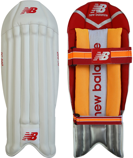 New Balance TC 560 Wicket Keeping Pads (Junior) (2018)