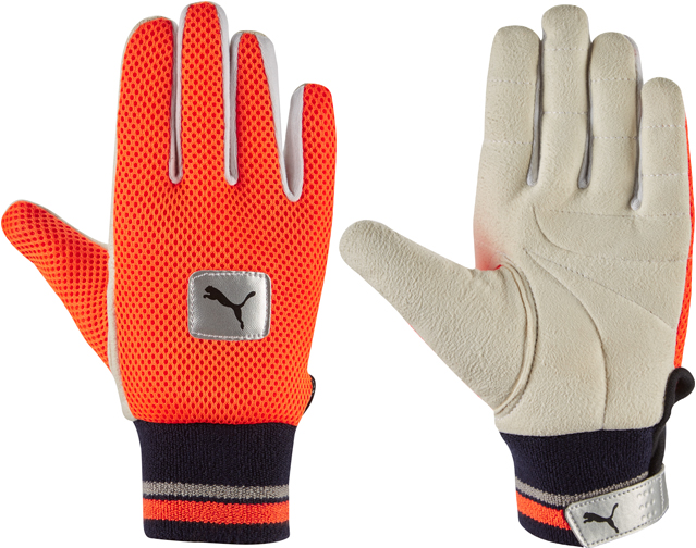 Puma Half Chamois Wicket Keeping Inner Gloves