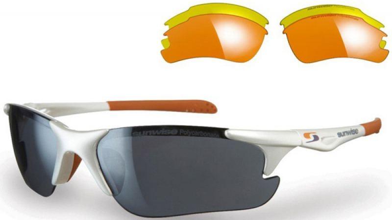 Sunwise Twister White Sunglasses